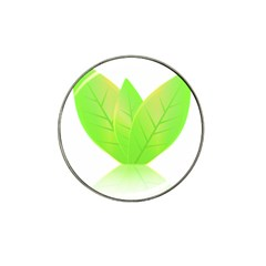 Leaves Green Nature Reflection Hat Clip Ball Marker
