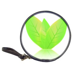 Leaves Green Nature Reflection Classic 20-CD Wallets