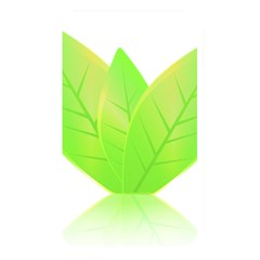 Leaves Green Nature Reflection Memory Card Reader