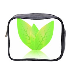 Leaves Green Nature Reflection Mini Toiletries Bag 2-Side