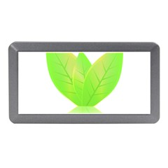 Leaves Green Nature Reflection Memory Card Reader (mini)