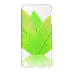 Leaves Green Nature Reflection Apple Ipod Touch 5 Hardshell Case