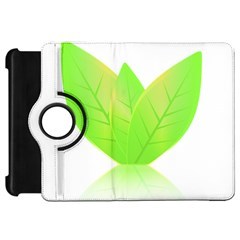 Leaves Green Nature Reflection Kindle Fire Hd 7