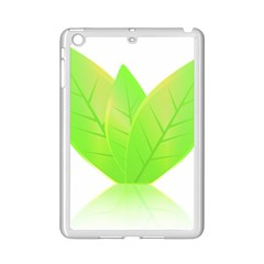 Leaves Green Nature Reflection Ipad Mini 2 Enamel Coated Cases