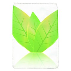 Leaves Green Nature Reflection Flap Covers (L)
