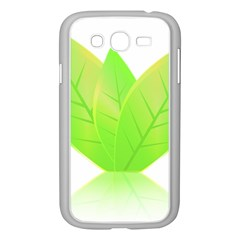 Leaves Green Nature Reflection Samsung Galaxy Grand Duos I9082 Case (white)