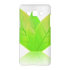 Leaves Green Nature Reflection Samsung Galaxy A5 Hardshell Case