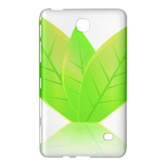 Leaves Green Nature Reflection Samsung Galaxy Tab 4 (8 ) Hardshell Case
