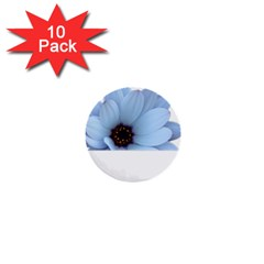 Daisy Flower Floral Plant Summer 1  Mini Buttons (10 Pack)