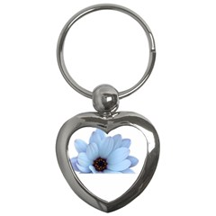 Daisy Flower Floral Plant Summer Key Chains (heart)
