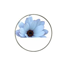 Daisy Flower Floral Plant Summer Hat Clip Ball Marker (4 pack)