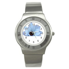 Daisy Flower Floral Plant Summer Stainless Steel Watch