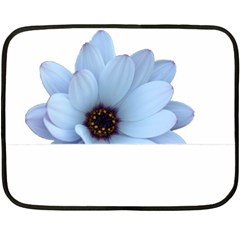 Daisy Flower Floral Plant Summer Fleece Blanket (Mini)