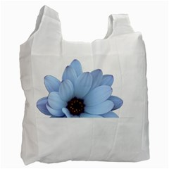 Daisy Flower Floral Plant Summer Recycle Bag (two Side)