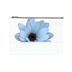 Daisy Flower Floral Plant Summer Cosmetic Bag (large)