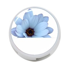 Daisy Flower Floral Plant Summer 4-Port USB Hub (Two Sides)