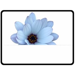 Daisy Flower Floral Plant Summer Fleece Blanket (large)