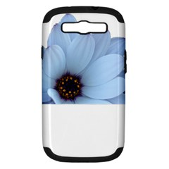 Daisy Flower Floral Plant Summer Samsung Galaxy S III Hardshell Case (PC+Silicone)