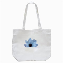 Daisy Flower Floral Plant Summer Tote Bag (white)