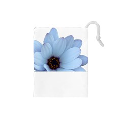 Daisy Flower Floral Plant Summer Drawstring Pouches (small)