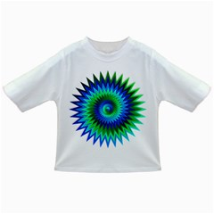 Star 3d Gradient Blue Green Infant/toddler T Shirts