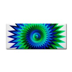 Star 3d Gradient Blue Green Cosmetic Storage Cases