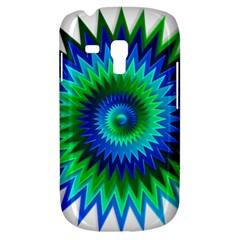 Star 3d Gradient Blue Green Galaxy S3 Mini