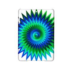 Star 3d Gradient Blue Green Ipad Mini 2 Hardshell Cases