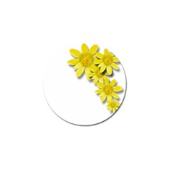Flowers Spring Yellow Spring Onion Golf Ball Marker (10 Pack)