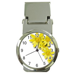 Flowers Spring Yellow Spring Onion Money Clip Watches