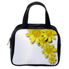 Flowers Spring Yellow Spring Onion Classic Handbags (one Side)