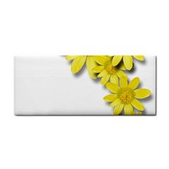 Flowers Spring Yellow Spring Onion Cosmetic Storage Cases