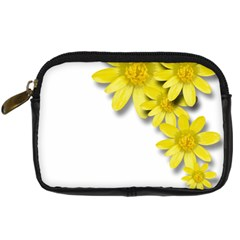 Flowers Spring Yellow Spring Onion Digital Camera Cases