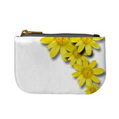 Flowers Spring Yellow Spring Onion Mini Coin Purses