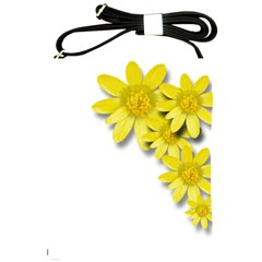Flowers Spring Yellow Spring Onion Shoulder Sling Bags