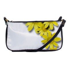 Flowers Spring Yellow Spring Onion Shoulder Clutch Bags