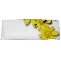 Flowers Spring Yellow Spring Onion Body Pillow Case (dakimakura)