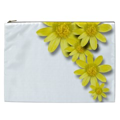 Flowers Spring Yellow Spring Onion Cosmetic Bag (xxl)