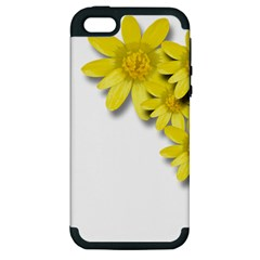 Flowers Spring Yellow Spring Onion Apple Iphone 5 Hardshell Case (pc+silicone)