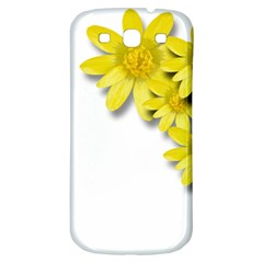 Flowers Spring Yellow Spring Onion Samsung Galaxy S3 S III Classic Hardshell Back Case