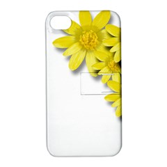 Flowers Spring Yellow Spring Onion Apple Iphone 4/4s Hardshell Case With Stand