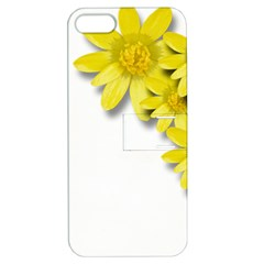 Flowers Spring Yellow Spring Onion Apple Iphone 5 Hardshell Case With Stand