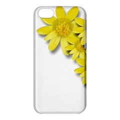 Flowers Spring Yellow Spring Onion Apple iPhone 5C Hardshell Case