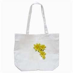 Flowers Spring Yellow Spring Onion Tote Bag (white)