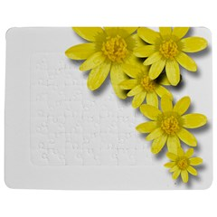 Flowers Spring Yellow Spring Onion Jigsaw Puzzle Photo Stand (Rectangular)