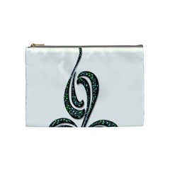 Scroll Retro Design Texture Cosmetic Bag (Medium)