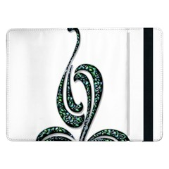 Scroll Retro Design Texture Samsung Galaxy Tab Pro 12.2  Flip Case