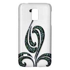 Scroll Retro Design Texture Galaxy S5 Mini