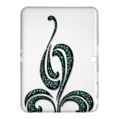 Scroll Retro Design Texture Samsung Galaxy Tab 4 (10 1 ) Hardshell Case