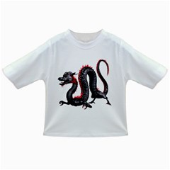 Dragon Black Red China Asian 3d Infant/Toddler T-Shirts
